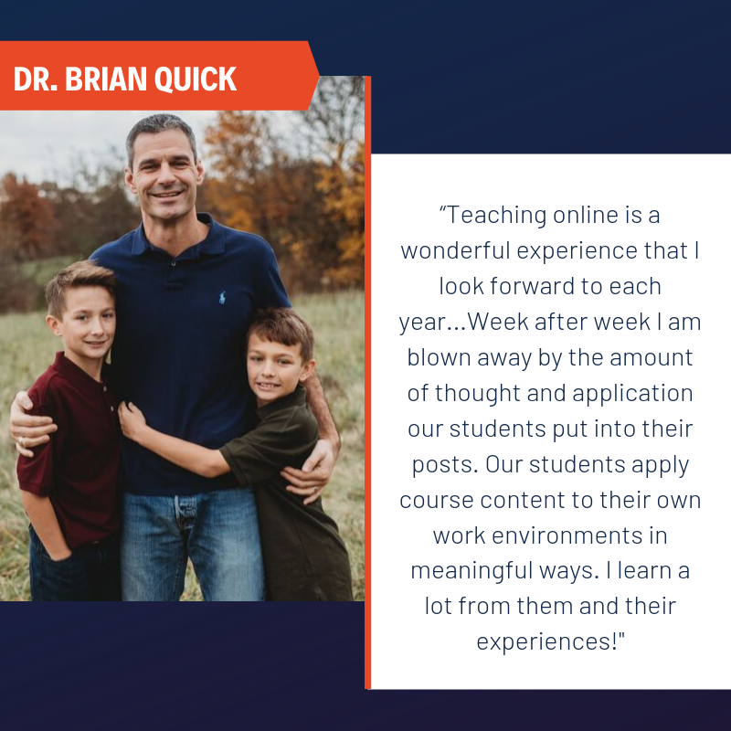 Faculty Spotlight - Brian Quick